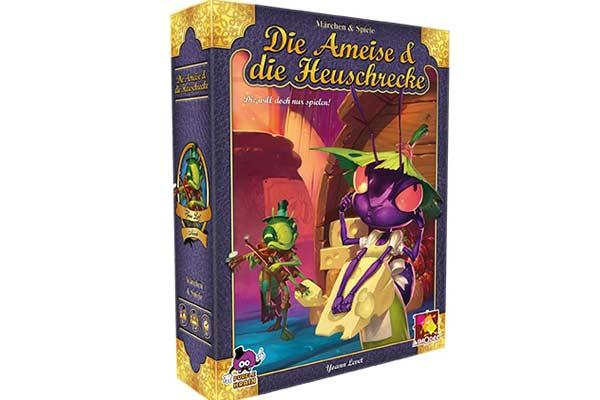 Familienspiel Die Ameise & die Heuschrecke - Foto von Asmodee