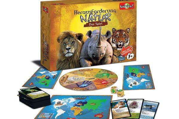 Herausforderung Natur - Das Spiel - Foto von Bioviva