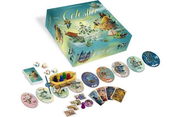Gesellschaftsspiel Celestia - Foto von Blam