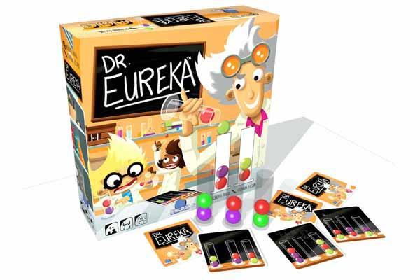 Dr. Eureka - Gesellschaftsspiel - Foto von Blue Orange Games