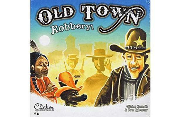 Old Town Robbery - Gesellschaftsspiel - Foto von Clicker Spiele