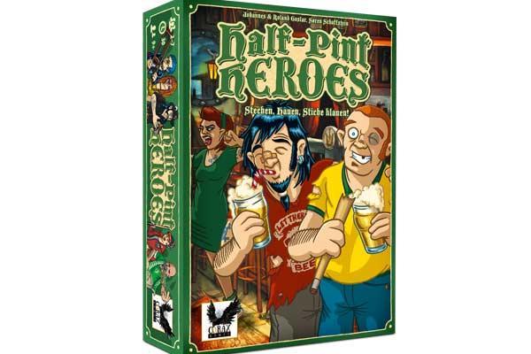 Half-Pint Heroes Spieleschachtel - Foto von Corax Games
