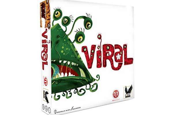 Gesellschaftsspiel Viral - Foto von Corax Games