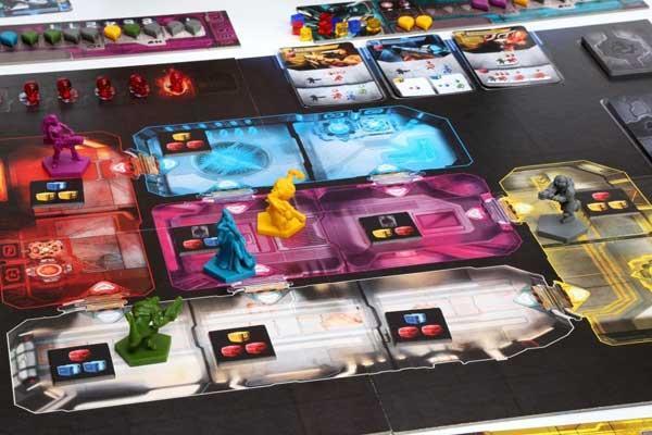 Adrenaline Ausschnitt Spielaufbau - Foto von CGE