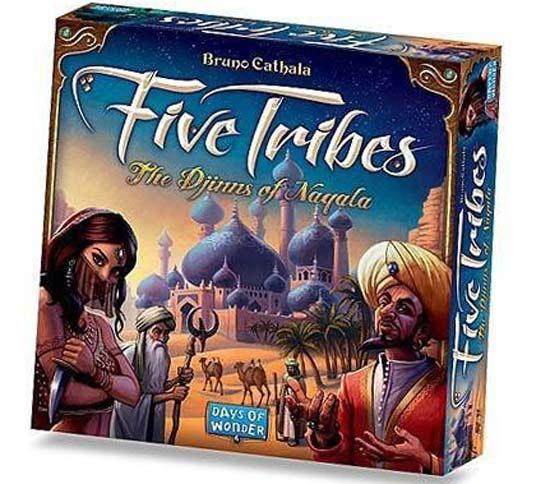 Five Tribes - Foto von Days Of Wonder