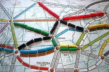 Brettspiel Zug um Zug - Foto von Reich der Spiele