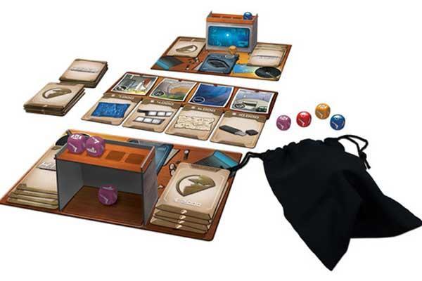 Spielaufbau von H. I. D. E. - Foto von DiveDice