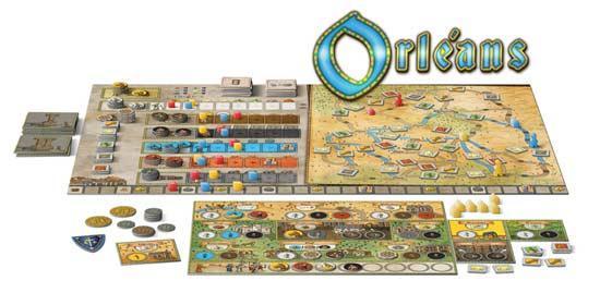 Brettspiel Orleans - Foto von dlp Games