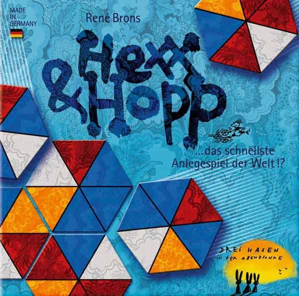 Familienspiel Hexx und Hopp - Foto Drei Hasen in der Abendsonne
