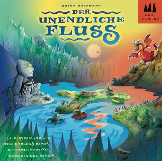 Kinderspiel Der unendliche Fluss - Foto von Drei Magier Spiele