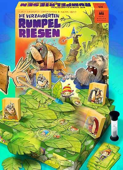 Die verzauberten Rumpelriesen von Drei Magier Spiele