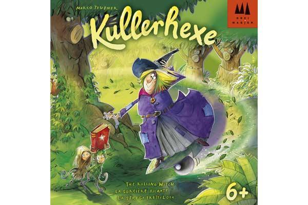 Kinderspiel Kullerhexe - Foto von Drei Magier Spiele