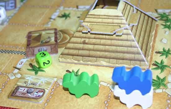 Familienspiel Camel Up - Foto Reich der Spiele