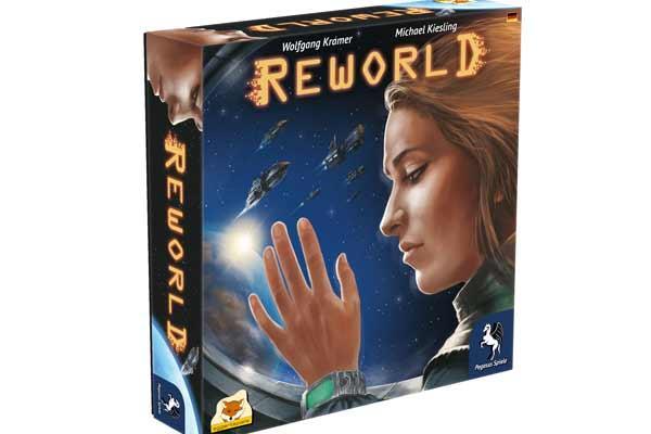 Brettspiel Reworld - Foto von eggertspiele
