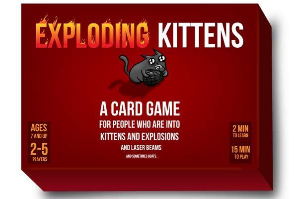 Exploding Kittens - Schachtel - Foto von Exploding Kittens