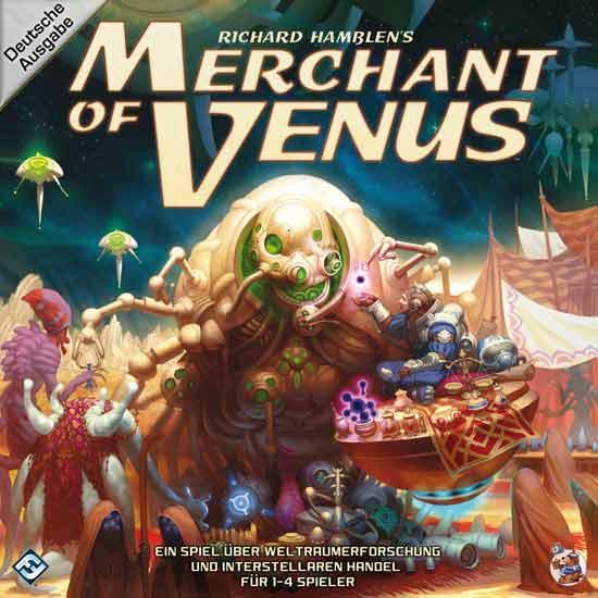 Merchants Of Venus - Spieleschachtel - Foto von Heidelberger Spieleverlag