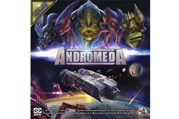 Brettspiel Andromeda - Foto von Galakta/HDS/Asmodee