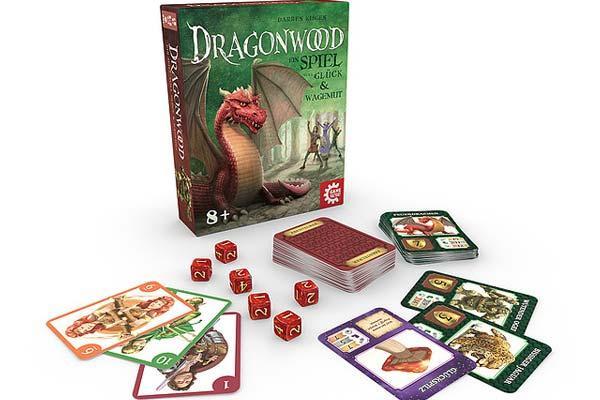 Gesellschaftsspiel Dragonwood - Foto von Game Factory