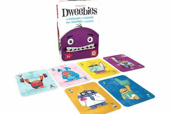 Gesellschaftsspiel Dweebies - Foto von Game Factory