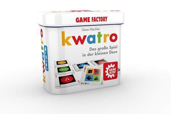 Mitbringspiel Kwatro - Foto von Game Factory
