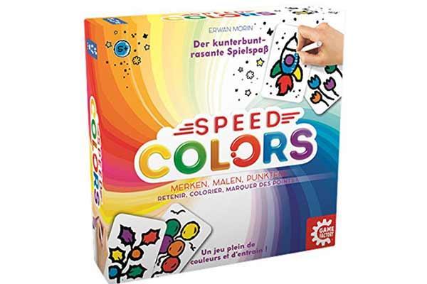 Gesellschaftsspiel Speed Colors - Foto von Game Factory