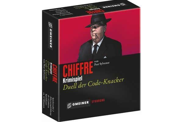 Deduktionsspiel Chiffre - Foto von Gmeiner Verlag