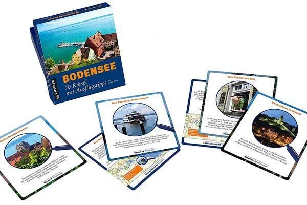 Quizspiel Bodensee - Foto von Gmeiner Verlag