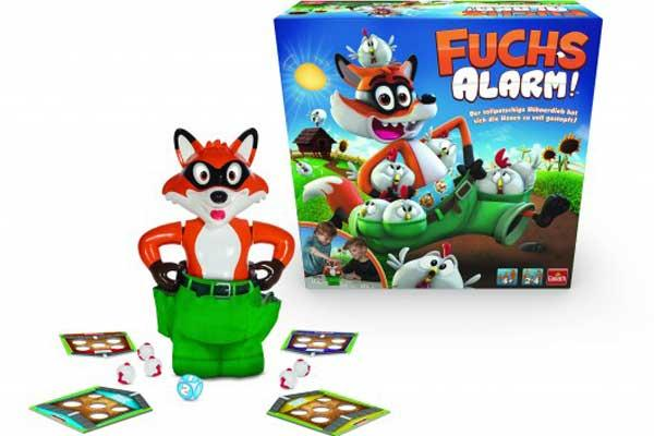 Kinderspiel Fuchsalarm - Foto von Goliath Toys