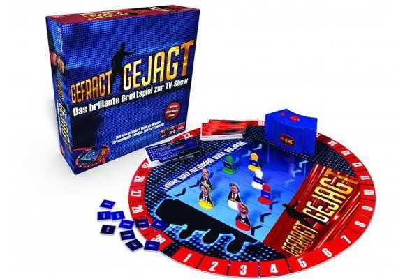 Gefragt - Gejagd - Spiel zum Fernsehquiz - Foto von Goliath Toys