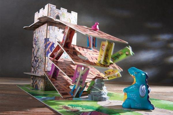 Kinderspiel Drachenturm - Spielaufbau - Foto von Haba