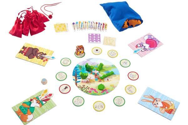 Spielaufbau Welt der Sinne - Kinderspiel von Haba