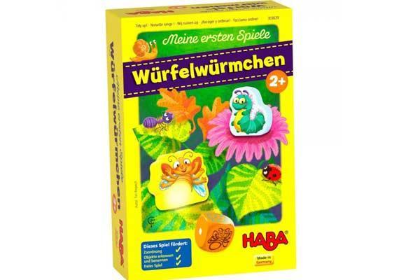 Kinderspiel Würfelwürmchen - Foto von Haba