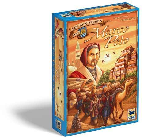 Brettspiel Auf den Spuren von Marco Polo - Foto von Hans im Glück