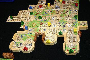 Carcassonne - Die Stadt von Reich der Spiele