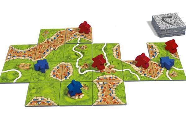 Legespiel Carcassonne für 2 - Foto von Hans im Glück