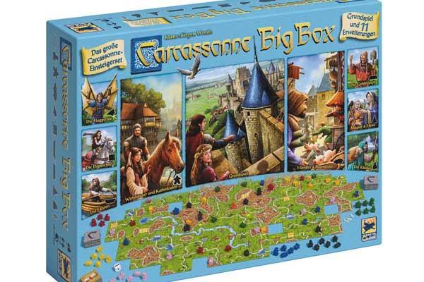 Carcassonne: Big Box - Foto von Hans im Glück