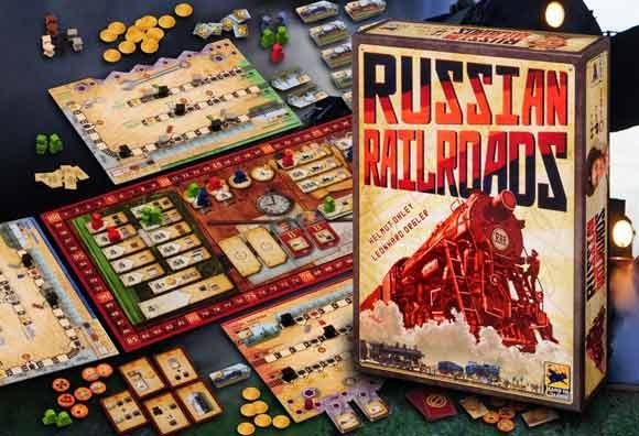 Russian Railroads - Spielaufbau - Foto von Hans im Glück
