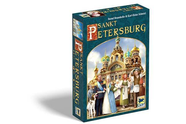 2014er-Schachtel Brettspiel Sankt Petersburg - Foto von Hans im Glück