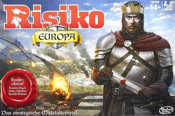 Risiko Europa Sonderedition - Foto von Hasbro