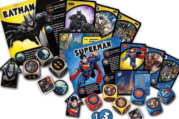 Justice League - Hero Dice - Fotobestandteile von Heidelberger Spieleverlag