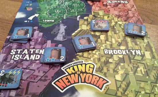 King of New York: Jetzt kämpfen die Monster um die Vorherrschaft am Hudson River! - Foto von Hendrik Breuer