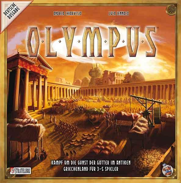 Gesellschaftsspiel Olympus - Foto von Heidelberger Spieleverlag