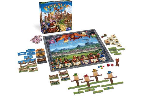 Brettspiel Feuville - Foto von HUCH!