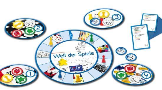 Quizspiel Welt der Spiele - Foto von Huch and friends