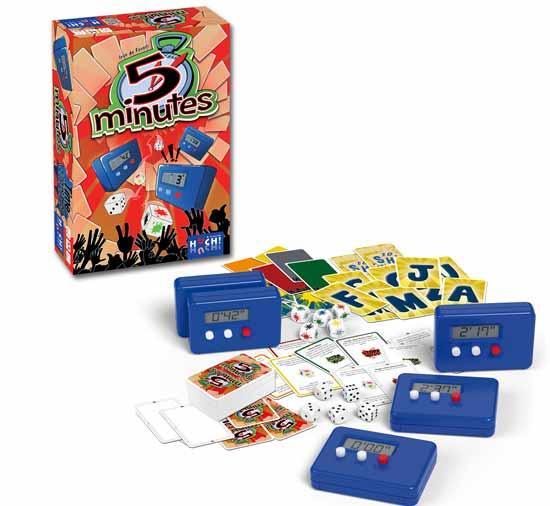 Gesellschaftsspiel 5 Minutes - Foto von Huch and friends