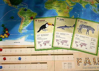 Fauna - das etwas andere Quizspiel um Tiere - Foto von Reich der Spiele