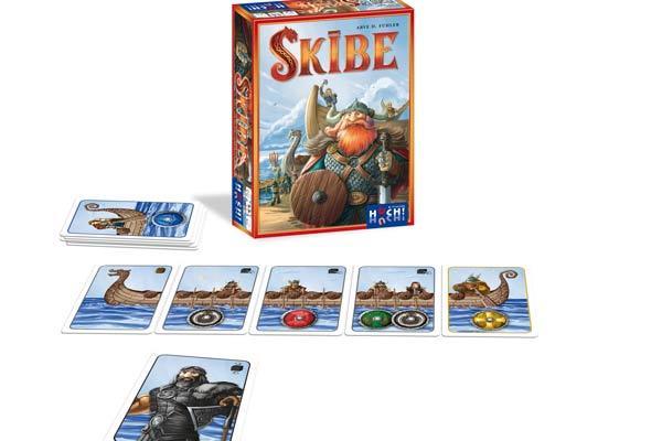 Kartenspiel Skibe - Foto von HUCH! & Friends