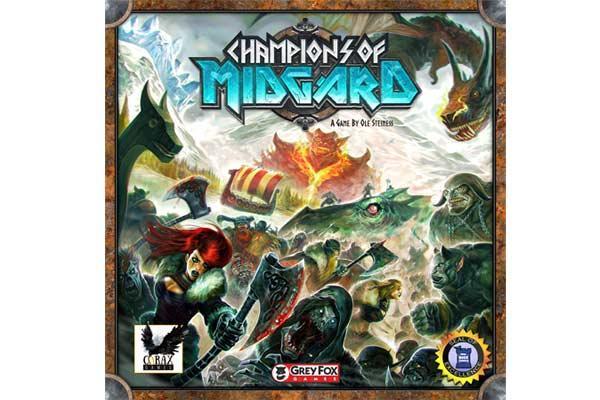 Brettspiel Champions of Midgard - Foto von Corax Games