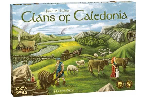 Strategiespiel Clans Of Caledonia - Foto von Karma Games