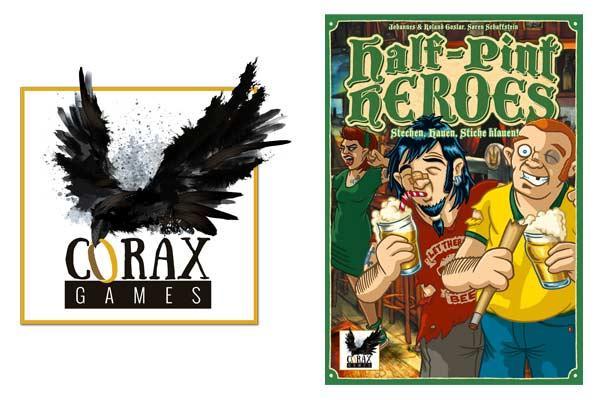 Corax Games und Half-Pint Heroes - Grafik von Corax Games